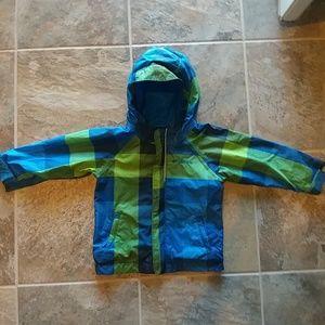 Columbia light weight windbreaker jacket, size 2 T